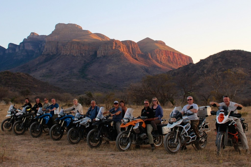 Safari Motorcycle Tour