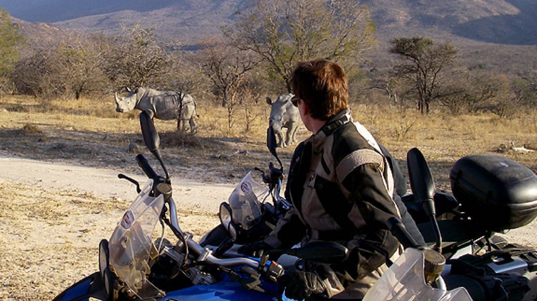 Fly/Ride from the USA – Motorcycle Safari in South Africa