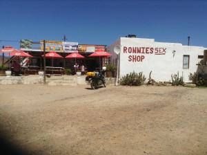 Ronnies sex shop