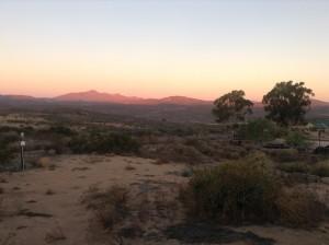 Namakwa sunset