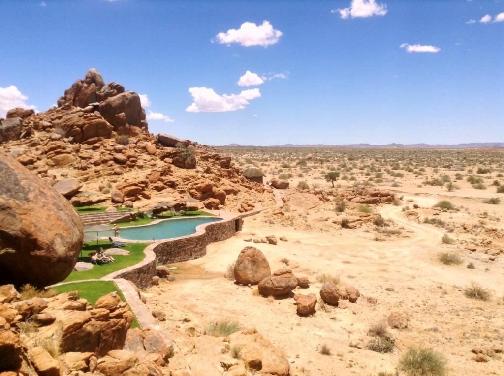 Canyon Lodge swimming pool.