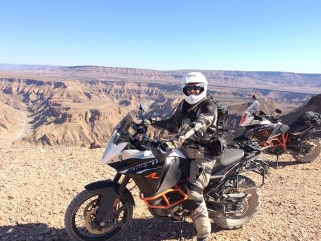 Kaapstad Motorcycle Tours in Namibia