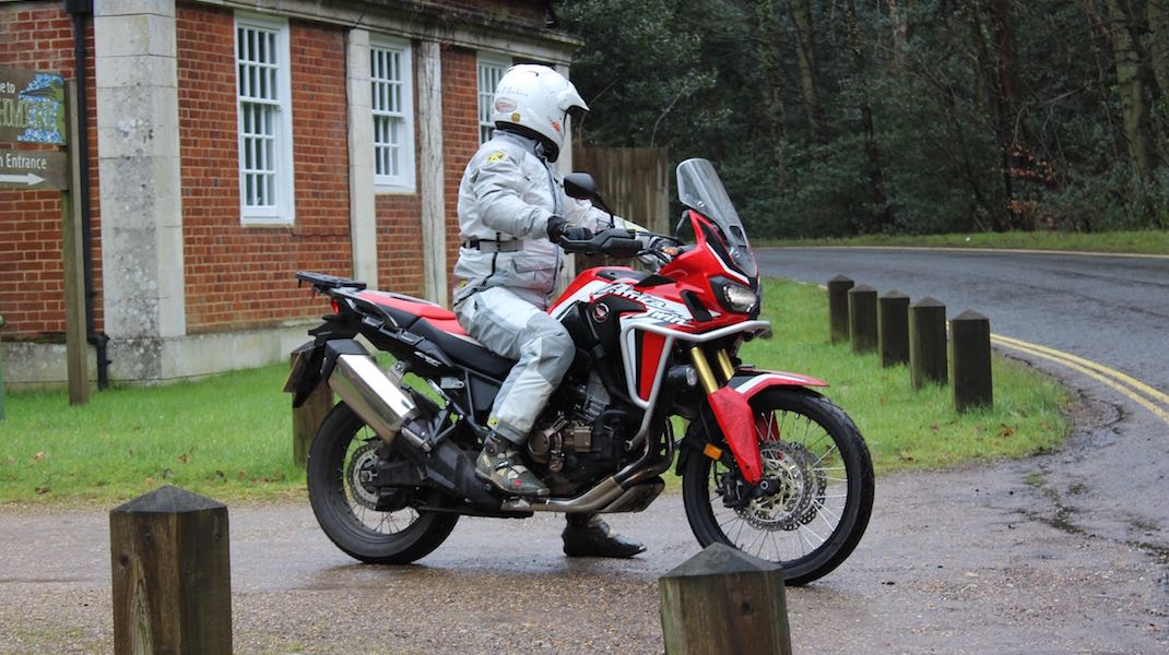 Africa Twin Touring Seat